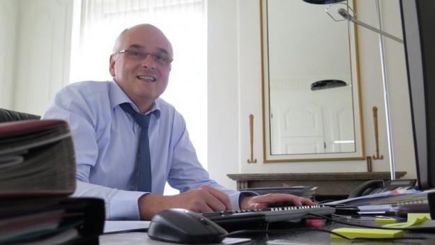 Wegen des grossen Arbeitsanfalls verbringt Pierre Alain Schnegg weniger Zeit mit seiner Familie.