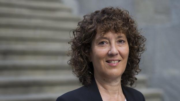 Die bernische Regierungsrätin Barbara Egger.