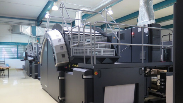 Auf dieser Druckmaschine wird bald kein «Walliser Bote» mehr gedruckt.