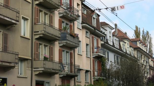 Offiziell herrscht in Bern Wohnungsnot.