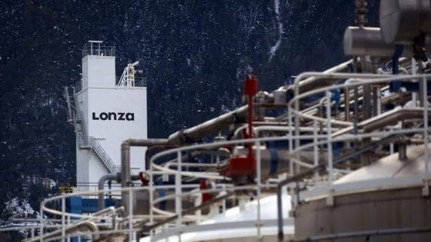 Die Lonza ist eine der wichtigsten Arbeitgeberinnen im Wallis.