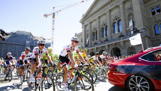 Die Tour de France gastierte Mitte Juli in Bern.