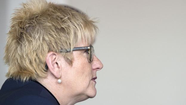 Beatrice Simon, die Finanzdirektorin des Kantons Bern, muss weiter sparen.