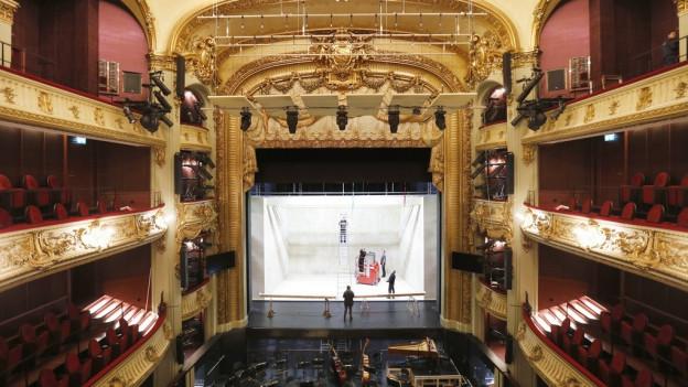 Das renovierte Berner Stadttheater.