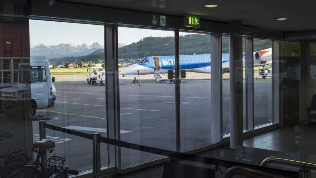 Flughafen Belp muss weitere Lärmschutzmassnahmen umsetzen.
