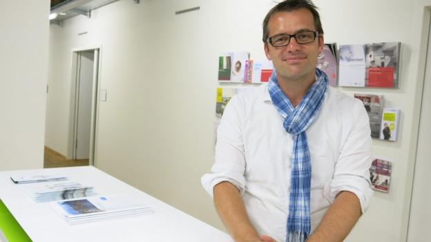 Marc Bühlmann, Leiter des politischen Jahrbuchs