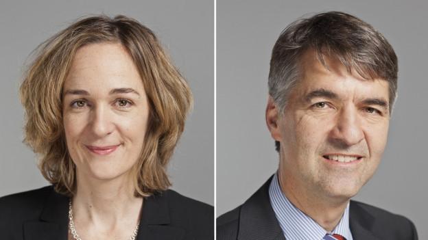 Portrait Ursula Wyss und Alec von Graffenried