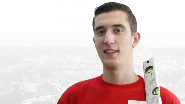 Bruno Pravato holt an den EuroSkills die Goldmedaille.