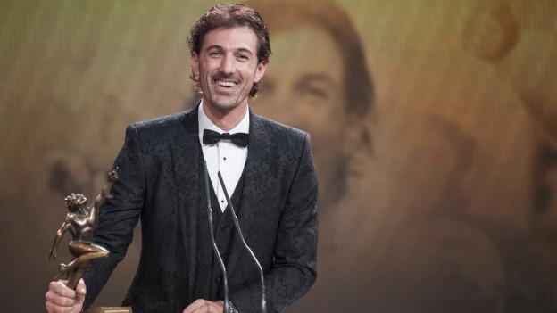 Portrait Cancellara an den Sport Awards