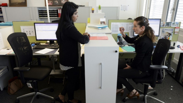Der kaufmännische Beruf ist sowohl bei jungen Frauen als auch bei jungen Männern am beliebtesten.