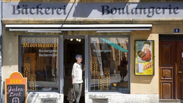Zweisprachigkeit im Alltag von Biel-Bienne.