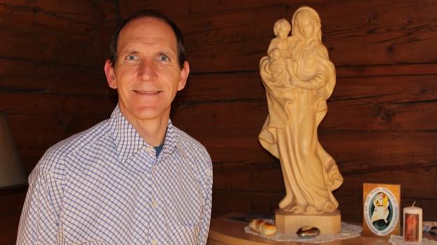 Pfarrer Jean-Pierre Brunner aus Naters.