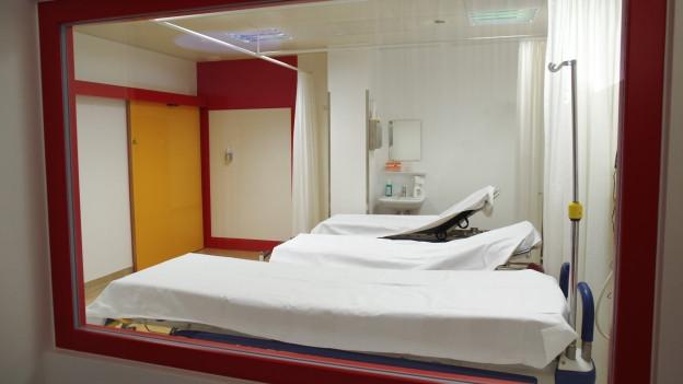 Notfallabteilung Spital Sitten
