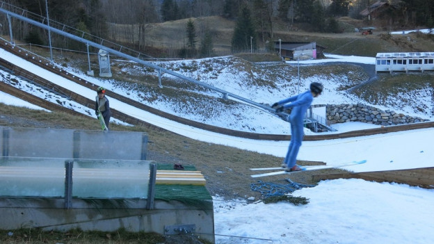 Skisprungschanze Kandersteg