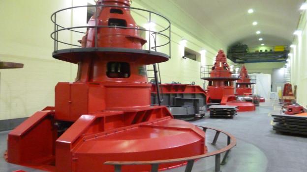 Wasserstrom wirtschaftlich unter Druck - KWO-Turbinenhaus in Innertkirchen
