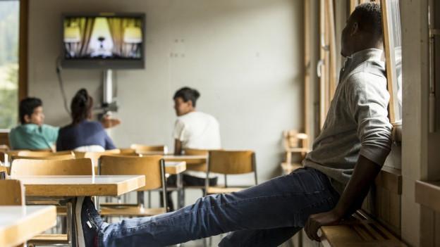 Im Bundesasylzentrum in Kappelen werden die Asylsuchenden auf den Entscheid warten.