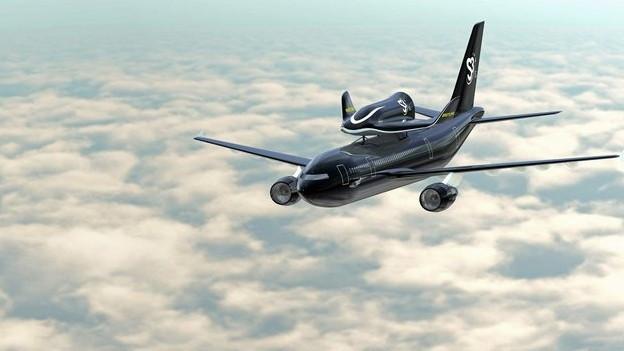 Weltraumflüge mit dem Space Shuttle «Soar» – das war der Plan von S3.