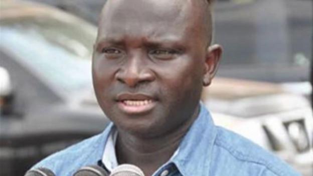 Der ehemalige Innenminister von Gambia.