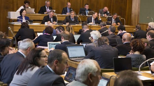 o viele wie noch nie möchten hier einen Sitz ergattern: Der Andrang für die Walliser Parlamentssitze ist gross.