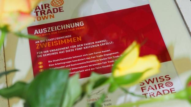 Zweisimmen hat sie, Bern bekommt sie bald: Die Auszeichnung als «Fair Trade Town».