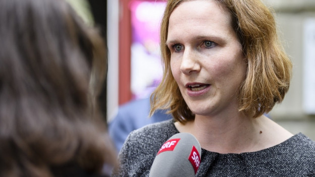 Evi Allemann hat ihr Interesse für einen Sitz in der Berner Kantonsregierung kundgetan.