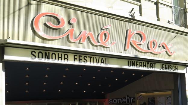 Kino Rex mit SonOhr Plakat