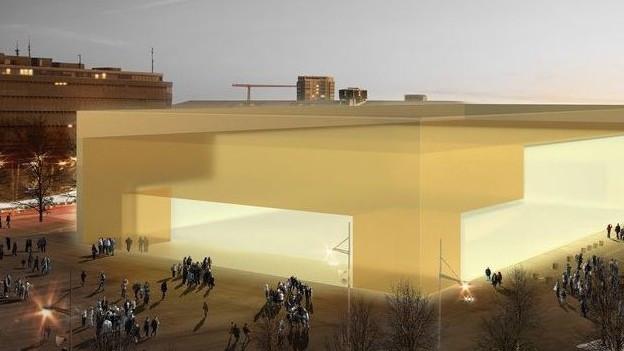 Konzeptentwurf aus dem Jahr 2015: Gemäss Bernexpo kann die Halle aber auch ganz anders aussehen.