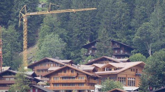 In Grindelwald gab es rechtswidrige Vereinbarungen zwischen Gemeinde und Bauherren.