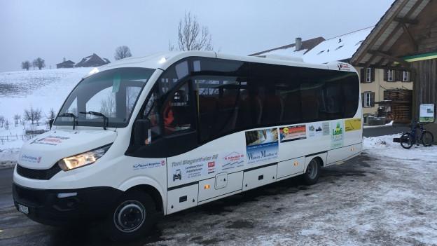Der Bürger-Bus von Rüderswil.
