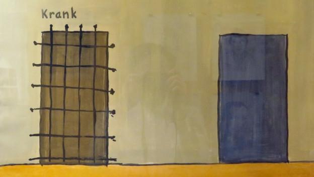 Gefangene sollen durch Malen Aggressionen loswerden.