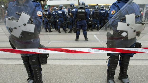 Demonstration abgesagt – doch noch ein ruhiger Samstag für die Polizei?