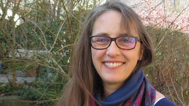 Daniela Karst vom Berner Frauenblock.
