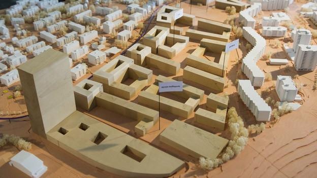 Verdichtete Stadtplanung - Symbolbild aus Lausanne.