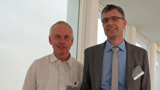 Kämpfen seit Jahren vor Gericht: Hans Anderegg und Daniel Fischlin.
