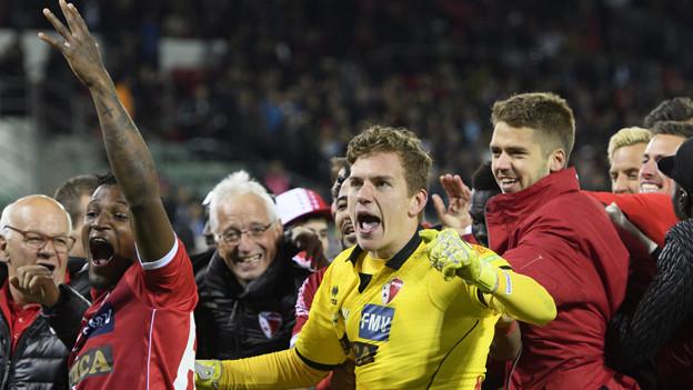 Am 25. Mai trifft Sion im Cupfinal auf den FC Basel.