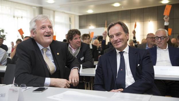 Das Sportparlament sagt Ja zur Olympiakandidatur Sion 2026.