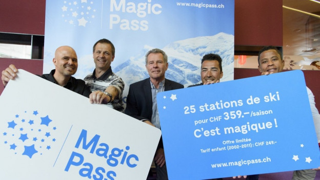 Der «Magic-Pass» wird lanciert.