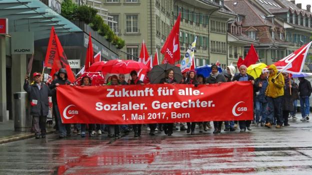 1. Mai-Umzug in Bern