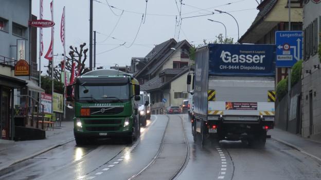 Das Dorfzentrum von Aarwangen soll vom Verkehr entlastet werden.