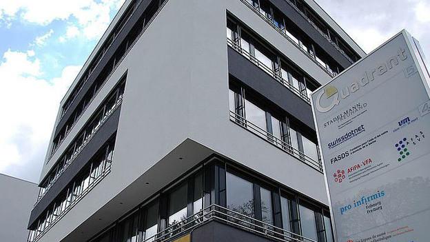 Vorbildlich zweisprachig: Dachverband der Freiburgischen Alters- und Pflegeheime.