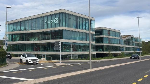 Hauptsitz der Groupe E in Granges-Paccot.