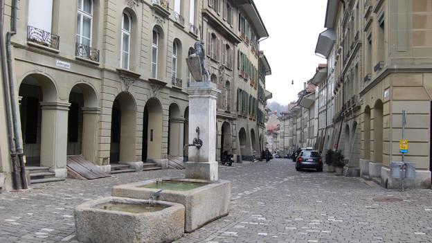 Die Junkerngasse in Bern.