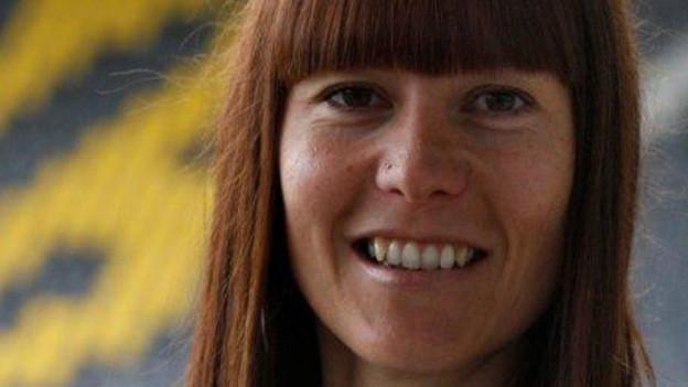 Alexandra Herren, während 7 Jahren YB-Fanarbeiterin.