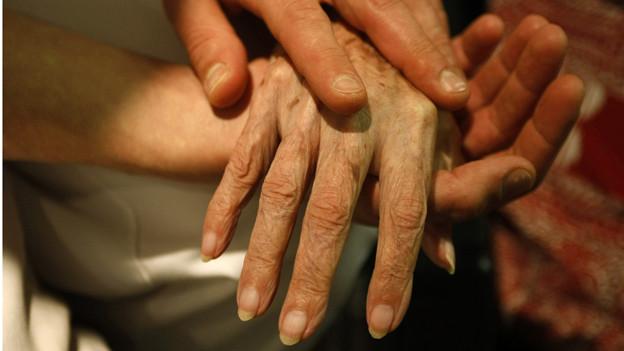 Sterbebegleitung allenfalls in einem Walliser Hospiz.