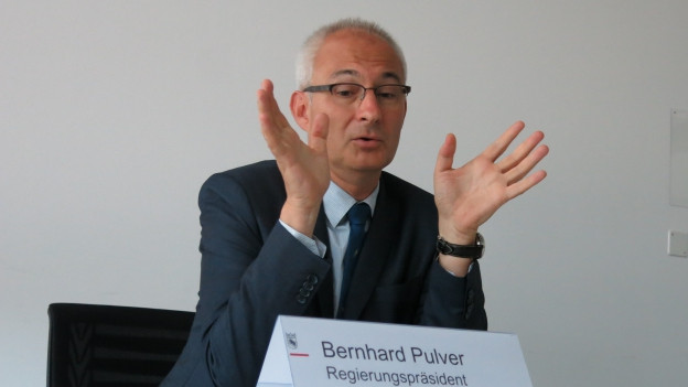 Regierungspräsident Bernhard Pulver.