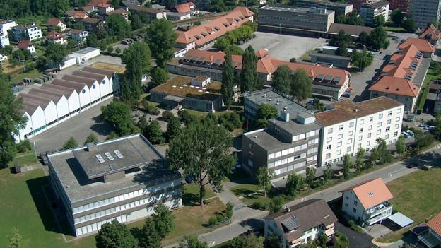 Der Waffenplatz Lyss - hier will die Gemeinde kein Asylzentrum