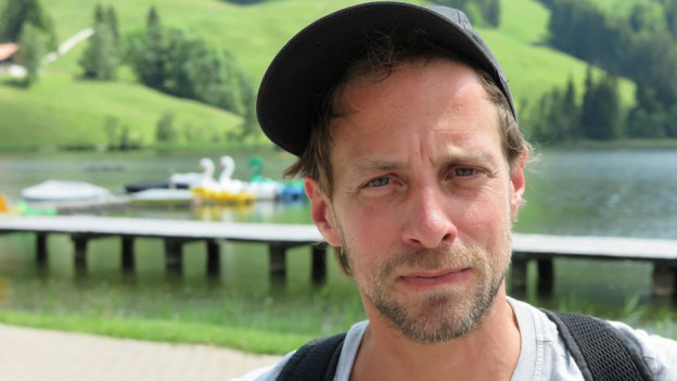 Martin Schick lädt zu einer Wander-Weltausstellung in Schwarzsee.