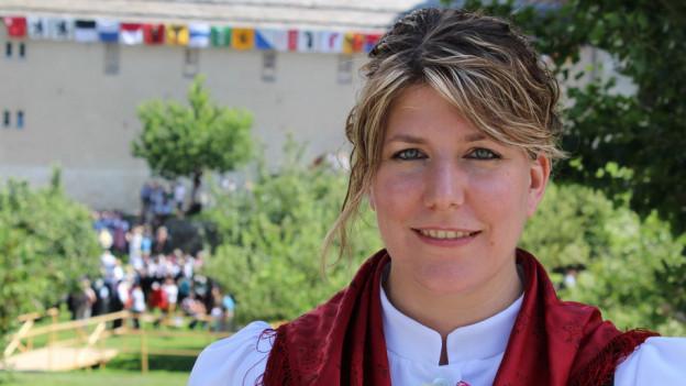 Manuela Lehner-Mutter ist nach dem Eidgenössichen Jodlerfest etwas müde, aber glücklich.