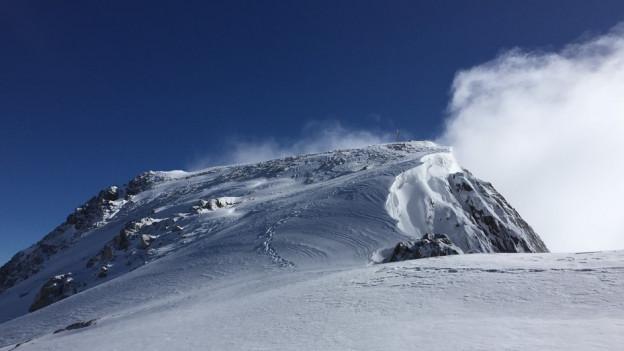 Das Sustenhorn im Berner Oberland.