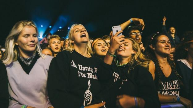 Macklemore-Fans am Gurtenfestival 2017